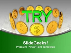 Try To Convert Foriegn Currency PowerPoint Templates Ppt Backgrounds For Slides 0613