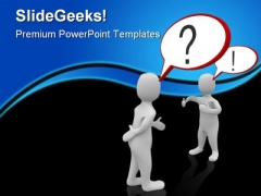Two Man Arguing Business PowerPoint Templates And PowerPoint Backgrounds 0511