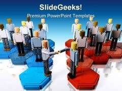 Two Teams Merging Business PowerPoint Themes And PowerPoint Slides 0211