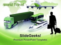Types Of Transport Travel PowerPoint Templates And PowerPoint Backgrounds 0711