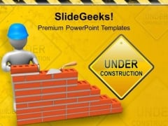 Under Construction Process PowerPoint Templates Ppt Backgrounds For Slides 0713
