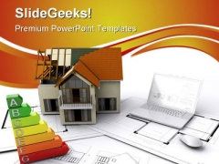 Under Construction Real Estate PowerPoint Themes And PowerPoint Slides 0511