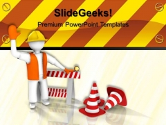 Under Construction Signs PowerPoint Templates And PowerPoint Themes 0512