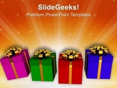 Unique Business Gifts PowerPoint Templates Ppt Backgrounds For Slides 0513