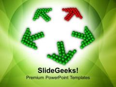 Unique Solution Arrows PowerPoint Templates Ppt Backgrounds For Slides 0413