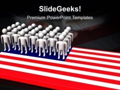 United State Of America PowerPoint Templates And PowerPoint Themes 1112