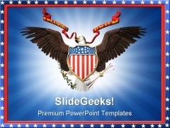 United States Americana PowerPoint Templates And PowerPoint Backgrounds 0811