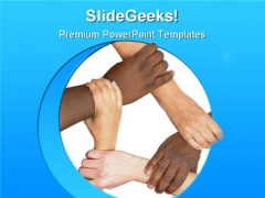 Unity Communication PowerPoint Templates And PowerPoint Backgrounds 0911