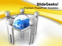 Unity In Peoples Global PowerPoint Templates And PowerPoint Themes 0612