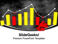 Ups And Downs Of Business PowerPoint Templates And PowerPoint Themes 0912