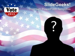 Us Presidential Election Romney Obama Americana PowerPoint Templates And PowerPoint Themes 0812