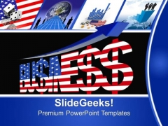 Usa America Business PowerPoint Templates And PowerPoint Themes 0712