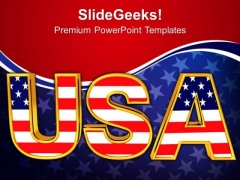 Usa Text America PowerPoint Templates And PowerPoint Themes 1012