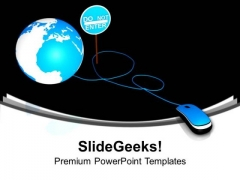 Use Internet Security For Business PowerPoint Templates Ppt Backgrounds For Slides 0413