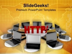 Use Networking For Business PowerPoint Templates Ppt Backgrounds For Slides 0713