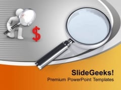 Use The Fine Vision To Find Root Cause PowerPoint Templates Ppt Backgrounds For Slides 0413