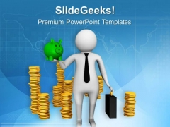 Using Savings For Business Is Not Good PowerPoint Templates Ppt Backgrounds For Slides 0613