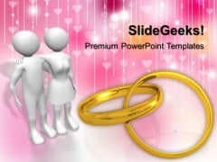 Valentine Couple Youth PowerPoint Templates And PowerPoint Themes 1112
