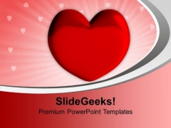 Valentine Heart Youth PowerPoint Templates Ppt Backgrounds For Slides 1212