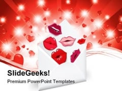 Valentine Hearts Youth PowerPoint Templates And PowerPoint Backgrounds 0311