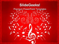 Valentine Theme Music PowerPoint Themes And PowerPoint Slides 0211