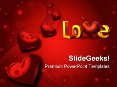 Valentines Day Wedding PowerPoint Templates And PowerPoint Backgrounds 0711