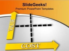 Value Balanced With Cost In Business PowerPoint Templates Ppt Backgrounds For Slides 0313