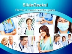 Various Doctors Medical PowerPoint Templates And PowerPoint Backgrounds 0311