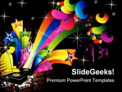 Vector Composition Music PowerPoint Themes And PowerPoint Slides 0611