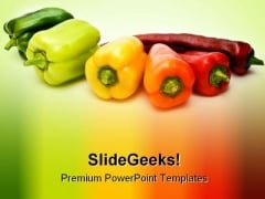 Vegetable Food Health PowerPoint Themes And PowerPoint Slides 0511