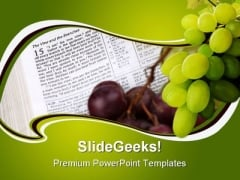Vine Branches Religion PowerPoint Templates And PowerPoint Backgrounds 0211