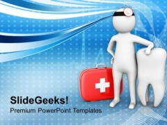Visit Your Dentist Regularly PowerPoint Templates Ppt Backgrounds For Slides 0713