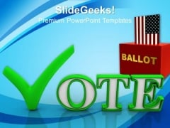Vote Americana PowerPoint Templates And PowerPoint Themes 0912
