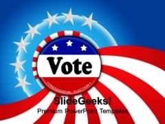 Voting Events PowerPoint Templates And PowerPoint Themes 0812