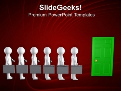 Wait For Your Opportunity PowerPoint Templates Ppt Backgrounds For Slides 0713