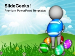 Wait For Your Surprises This Easter PowerPoint Templates Ppt Backgrounds For Slides 0313