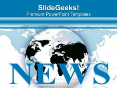 Watch Global News For Current Knowledge PowerPoint Templates Ppt Backgrounds For Slides 0613