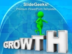 Watch The Business Growth PowerPoint Templates Ppt Backgrounds For Slides 0713