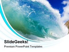 Wave01 Nature PowerPoint Templates And PowerPoint Backgrounds 0811