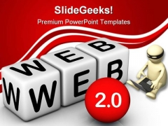 Web Icon Internet PowerPoint Backgrounds And Templates 1210