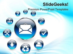Web Icons Internet PowerPoint Templates And PowerPoint Backgrounds 0811