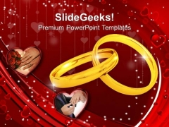 Wedding Ring Youth PowerPoint Templates And PowerPoint Themes 1112
