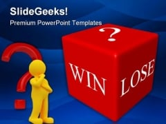 Win Lose Business PowerPoint Themes And PowerPoint Slides 0311