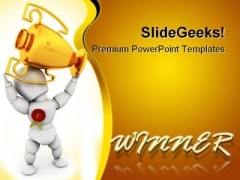Winner Business PowerPoint Templates And PowerPoint Backgrounds 0211