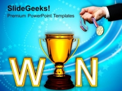 Winner Competition PowerPoint Templates And PowerPoint Themes 1112