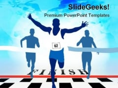 Winner Sports PowerPoint Templates And PowerPoint Backgrounds 0511