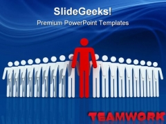 Winner Team Leadership PowerPoint Templates And PowerPoint Backgrounds 0811
