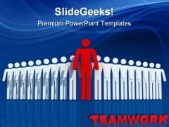 Winner Team Leadership PowerPoint Themes And PowerPoint Slides 0811