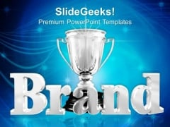 Winner Trophy Champion Success PowerPoint Templates And PowerPoint Themes 0712