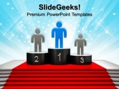 Winners Podium PowerPoint Templates And PowerPoint Themes 0912